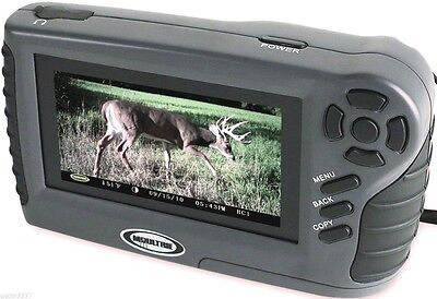 "Moultrie Trail Camera Viewer For Pictures and Video 4.3"" Screen USB Deer Game"