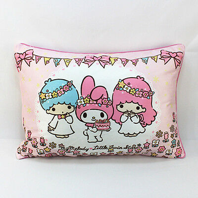 Little Twin Stars & My Melody Soft Coral Fleece Pile Pillow Case TS94