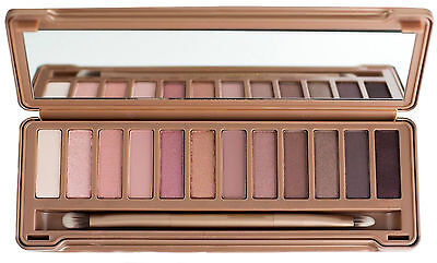 Popular Hot 12 Color Eye Shadow Makeup Cosmetic Shimmer Matte Eyeshadow Palette