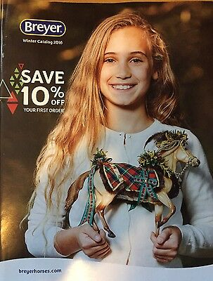 Breyer Reeves 2015 Winter Catalog Full Size Model Horse Collector 55 Pg Cover A