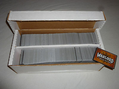 Large Collection Warlord Saga Of The Storm 1600+ Card Lot Card Game Lot War Lord