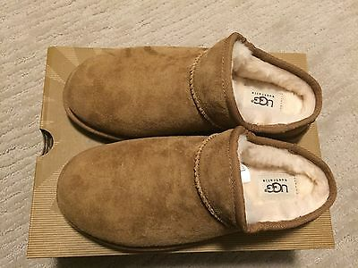 NEW Women's UGG Slippers size 8 Chestnut color