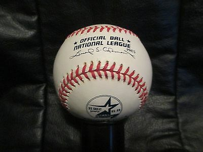 RARE Astrodome Final Game Official National League Baseball 35 Years Astros ONL