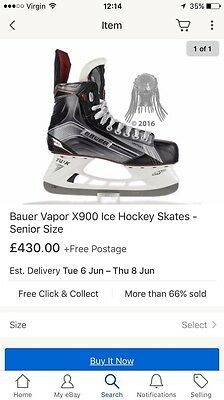 Bauer Vapor X900 (As New-grab A Bargain)