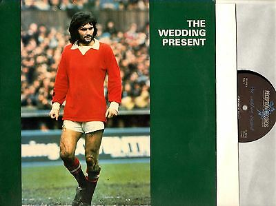 THE WEDDING PRESENT george best (1st uk with inner) LP EX/EX LEEDS 1 Indie 1987