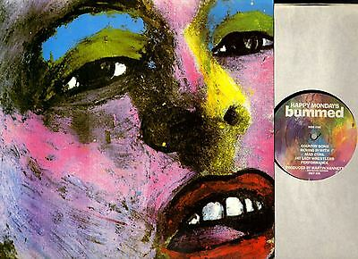 HAPPY MONDAYS bummed (original uk) LP EX-/VG+ FACT 220 Indie Britpop factory