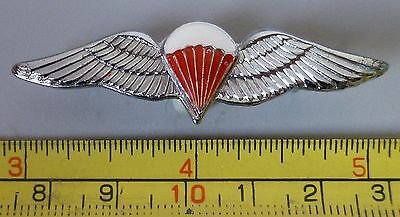 SOUTH AFRICA AIRBORNE FREEFALL PARACHUTE RED SILVER Mess Dress metal PARA WINGS