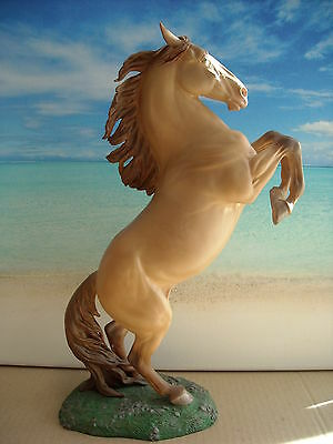 Resin Modellpferd AA Rearing Andalusian Stallion v Donna Chaney