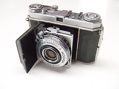 KODAK RETINA 1a TYPE 015 WITH f3.5 50mm RETINA- XENAR LENS.FOR SPARES OR REPAIR