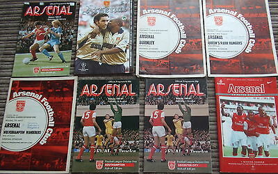 50 Arsenal Programmes