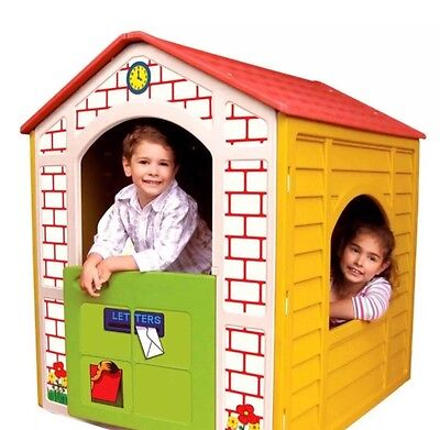 New Kids cubby house playhouse With Door Window