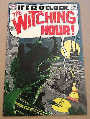 The Witching Hour # 1 - Neal Adams / Alex Toth Art - Dc Comics 1969