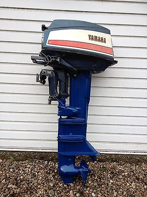 Yamaha 20a Outboard Motor Fishing Or Day Boat Engine 20hp