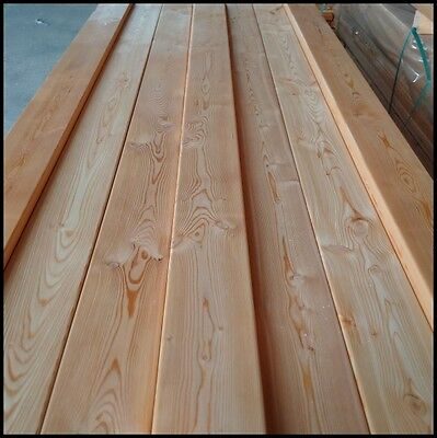 Siberian Larch Exterior Decking Boards A Grade 28x120mm 2.5m Value 1 Pack