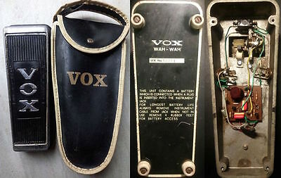 VOX WAH WAH vintage. Original with bag. Icar, Ducati. Rare.