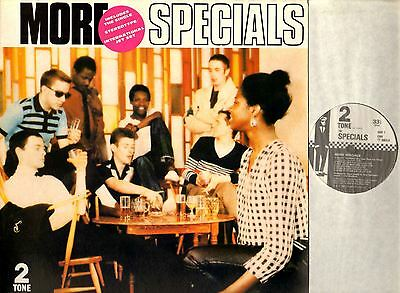 THE SPECIALS more specials (original uk pressing) LP EX+/EX CHR TT 5003 ska 1980