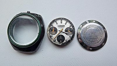 Vintage Citizen Bullhead 8110A watch parts for spares