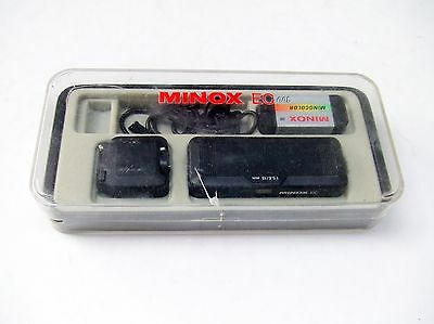 Minox  Ec Subminiature Camera  In Outfit Case