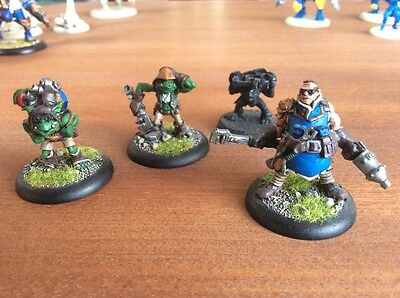 Privateer Press Painted Warmachine Hordes Cygnar Field Mechanics Kfy420