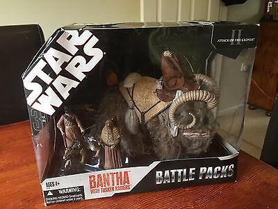 Star Wars 30th Anniversary Bantha with Tusken Raiders Battle Pack