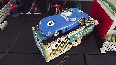 Vintage Tri-Ang Scalextric Mm/c57 Boxed Blue Aston Martin Dbr Type 3 Vgc 1960-3