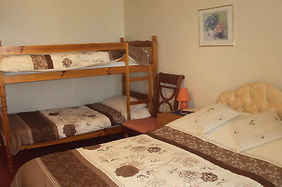 2nts BB FAMILY ROOM WITH SEAVIEW JULY HOTEL ILFRACOMBE NORTHDEVON