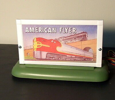 Whistling Billboards -Lighted By  American Flyer