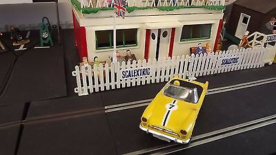 Vintage Tri-Ang Scalextric C83 Sunbeam Tiger Yellow 1971 Type 2 Made In England