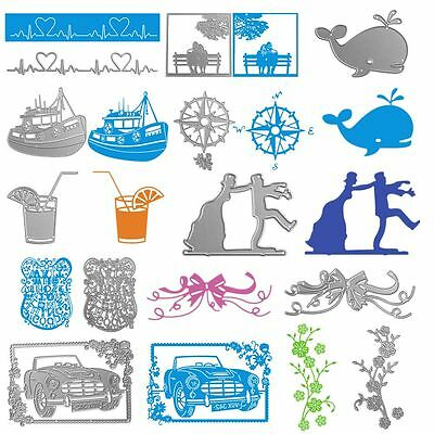 Decor Paper Cards Embossing Stencil Scrapbooking Cutting Dies Carbon Steel