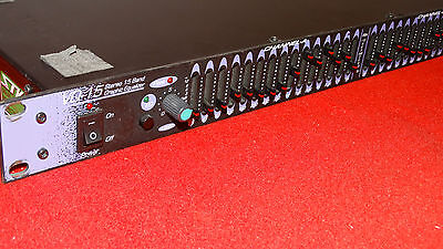 Stereo 15 band Graphic Equalizer VQ-15