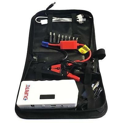 Durite 12V 12000 Li-ion Compact Mini Battery Jump Starter Booster Pack 0-649-20