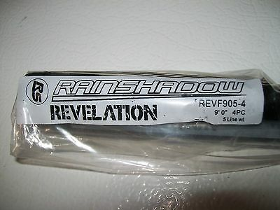 Rainshadow Revelation REV F905-4 9' 4pc. 5wt.flyrod blank color Satin black