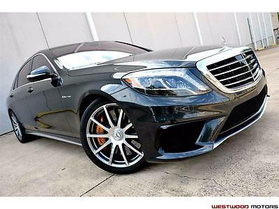 2016 Mercedes-Benz S-Class S63 AMG HEAVY LOADED CAR MSRP $176k Ceramic Brakes 2016 Mercedes-Benz S63 AMG HEAVY LOADED CAR MSRP $176k Ceramic Brakes Head Up NR