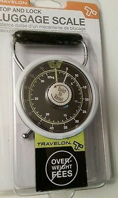Travelon Stop And Lock Handheld Luggage Scale 75 Lbs. Brand New Nwt Travel