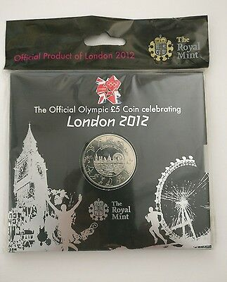 Official London 2012 OLYMPIC £5 coin from ROYAL MINT