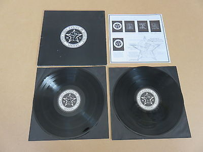 THE SISTERS OF MERCY Some Girls Wander By Mistake 2x LP & INSERT RARE 1ST PRESS