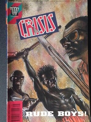 Crisis Issue 26 1989 2000AD Fleetway Publications