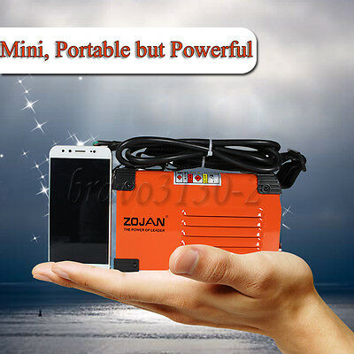 Handheld Mini MMA Electric Welder 220V 20-250A Inverter ARC Welding Machine Tool