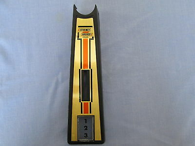 Raleigh Chopper Mk2 Shifter Cover With Gold Decal Don't Miss Out New Excellent!
