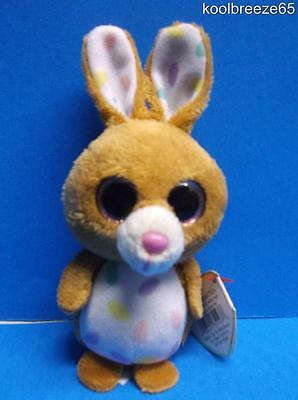 """Ty Beanie Boos CARROTS Basket Beanie Easter Plush Toy 4.5"""" Hang Tag New 2014"""