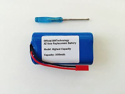 Battery for Arizer Solo and Arizer Solo 2 (3 Sizes) + Screwdriver by BMTick UK