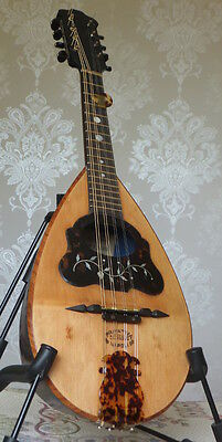 Restored Antique 1896 DeMeglio Mandolin (with video demo)