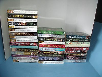 Lot Of 35 Historical Regency Medieval Victorian Romance*bedded By The Warrior