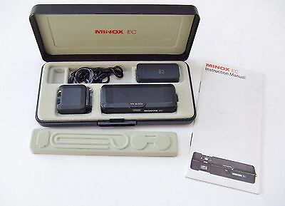 Minox  Ec Subminiature Camera  In Black Outfit Case
