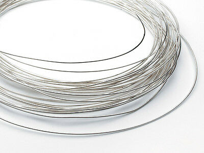 Easy Silver Solder Wire 0.5mm  100cm (1 metre) Round Fully Annealed for Repairs