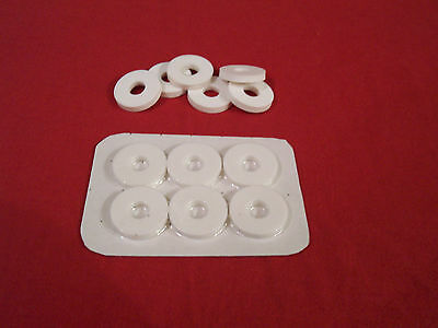 Bait pump washers silicone rubber to fit 22mm bait pumps