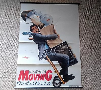 Large Original Moving Movie Film Poster Richard Pryor