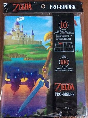 Ultra Pro - 9-Pocket PRO Binder - The Legend of Zelda: A Link Between Worlds