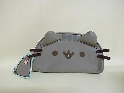 2016 PUSHEEN Large 3D Pencil Case / Cosmetic Case Brand New with Tags