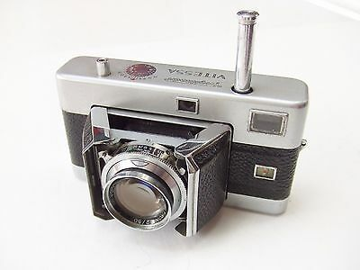 VOIGTLANDER VITESSA WITH f2 50mm ULTRON LENS. TYPE 125, 3rd STYLE